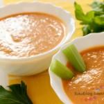 zupa z selerem naciowym i pomidorami