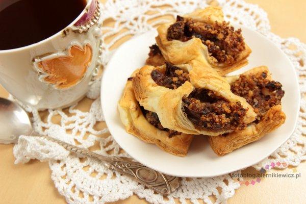 kruche ciasteczka ze śliwkami