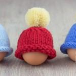 ubrać jajo