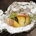grillowane ziemniaki z tapenadą